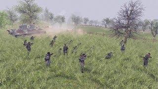 ELITE STORMTROOPERS & HEAVY TANK BATTLE | Men of War: Assault Squad 2 Gameplay