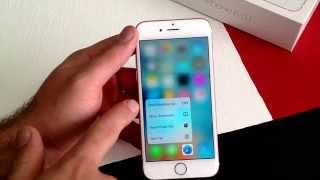 iPhone 6S - New features added for the iPhone 6S (force touch)