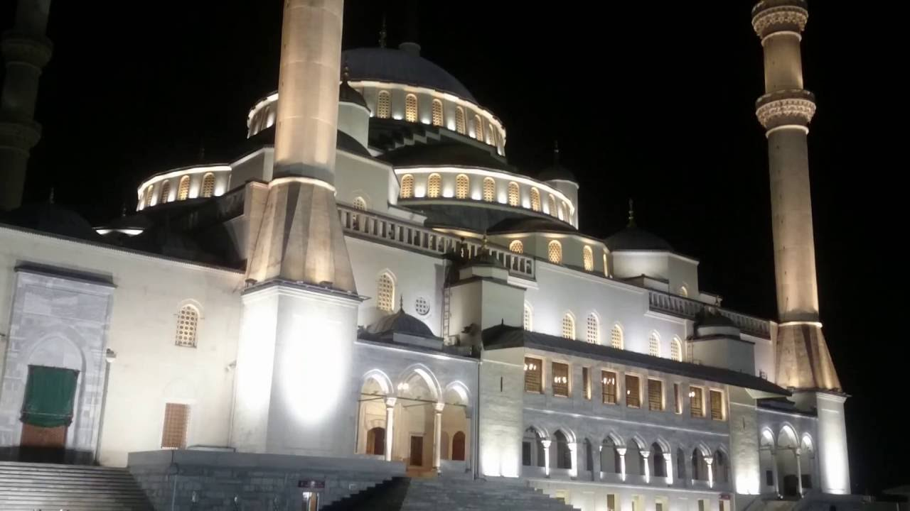 Ankara Kocatepe Camii Yatsi Ezani