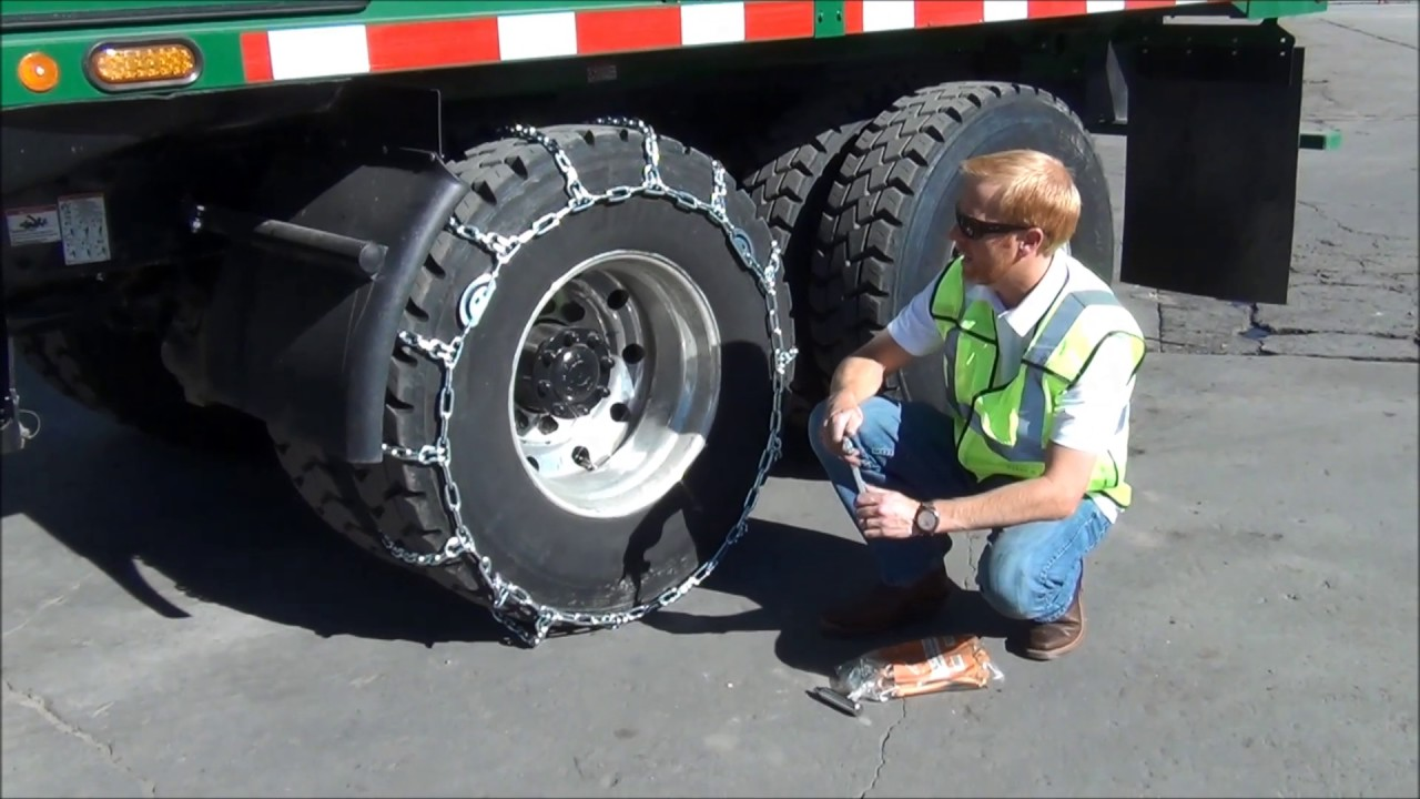 How To Install Tire Chains Correctly Tips Tricks And Safety Youtube
