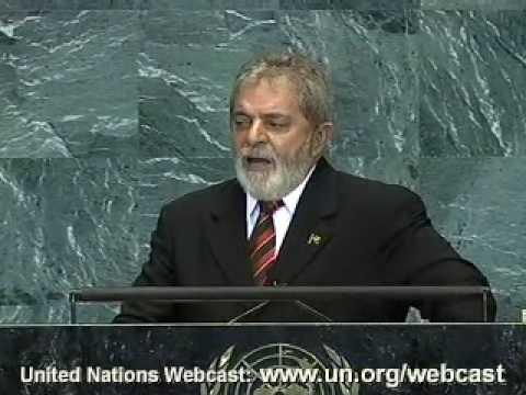 Discurso do Presidente Lula na ONU