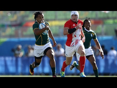 South Africa's rapid play maker Rosco Speckman
