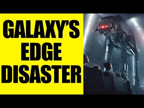 Star Wars Galaxy's Edge - Disney's LATEST RIDE is a DISASTER!