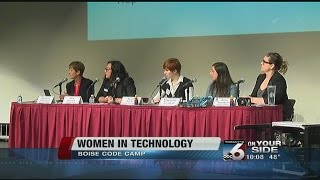 Panel discusses women in technology for Boise Code Camp