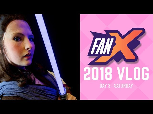 ☆[Vlog] Salt Lake FanX 2018 - Day 3 - CATCH ME ON THE CON FLOOR - LITERALLY!☆
