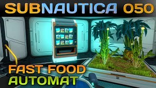 🌊 SUBNAUTICA [050] [Fast Food Automat] Let's Play Gameplay Deutsch German thumbnail