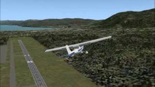 really crappy ai aircraft landing in flight simulator 2004
