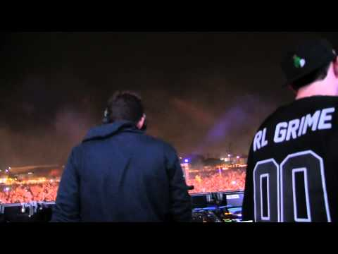 BAAUER B2B RL GRIME - SOME TYPE OF WHEY @ HARD DAY 2 OF THE DEAD - 11.3.2013