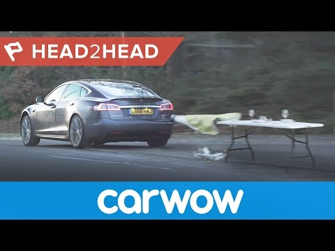 Tesla Model S P100D acceleration: 1/4 mile, 0-60mph and launch ferocity | Head2Head