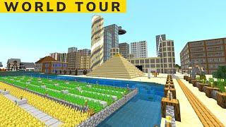 My Minecraft Xbox Survival World Tour (2020)