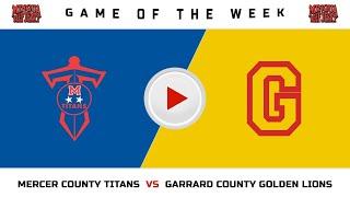 Mercer County vs Garrard County - Boys HS Basketball
