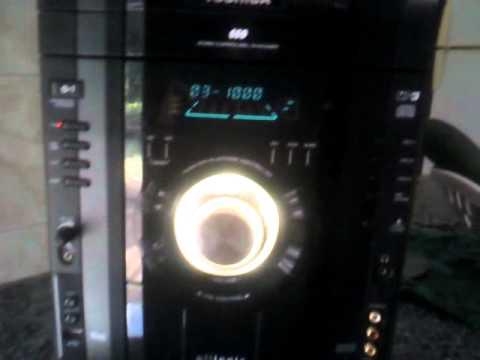 6c07cf33247 Mini System Toshiba Ms7845 - Defeito - YouTube