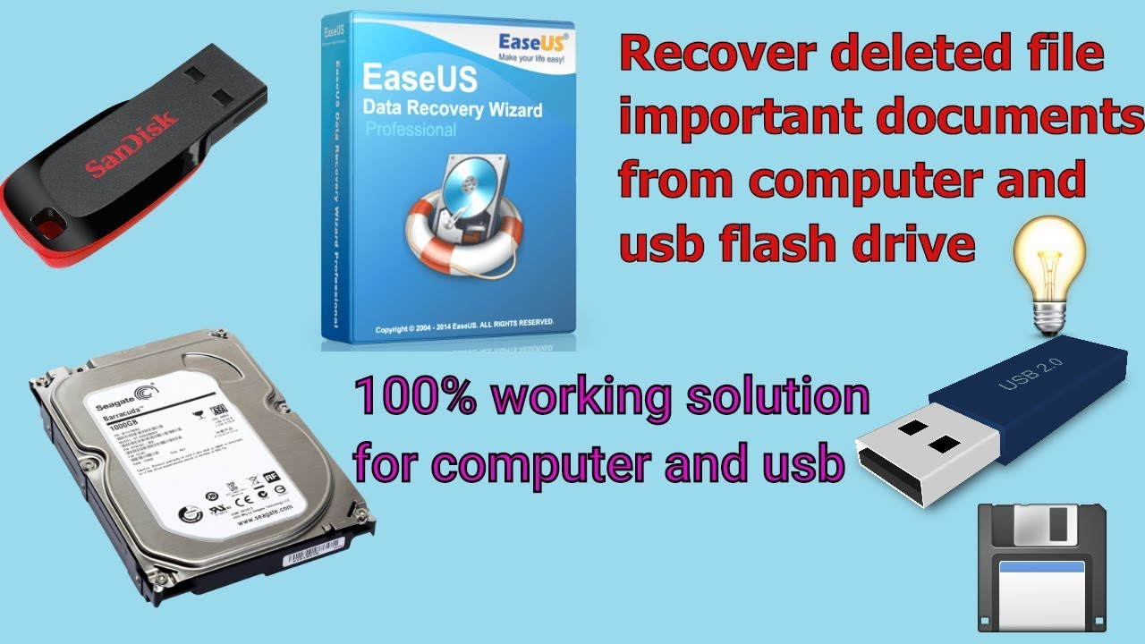 easeus recovery usb