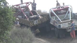 Авария на автокроссе Сафонов Демешкин ЗИЛ 130