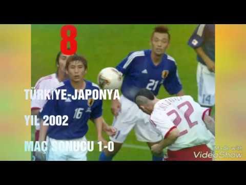 Türkiye'nin unutulmaz 8 maçı