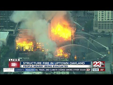 Breaking news: Massive Oakland fire