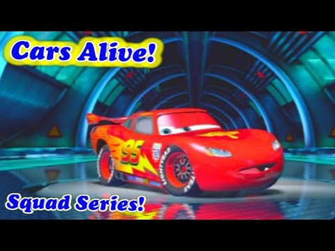Cars 2 Game Play   Lightning McQueen Squad Series 01