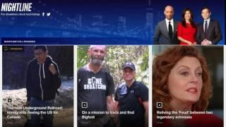 Trail to BIGFOOT GUYS on ABC NEWS NIGHTLINE