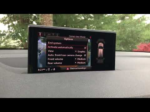 Audi Q7 2018 forgets camera mode. P