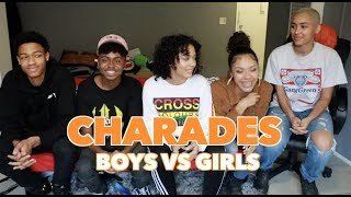 BOYS VS GIRLS CHARADES FT. KENNY KNOX & DOPEISLAND🤡😱
