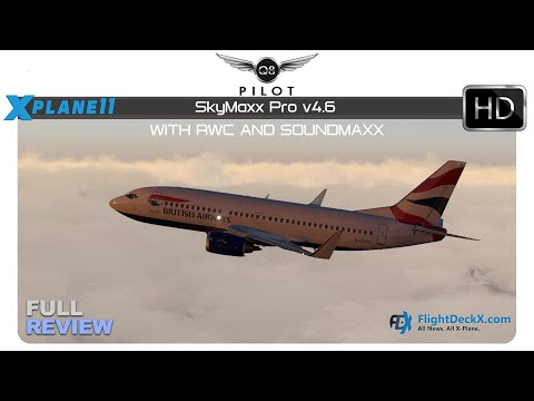 [X-Plane] SkyMaxx Pro v4.6 with Real Weather Connector | Full Review