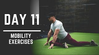 Day 11: Hip Mobility + Shoulder Mobility Exercises - 30 Days of Training (MIND PUMP)