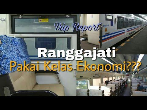 Trip Report Ka Ranggajati kelas ekonomi????