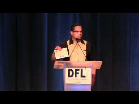 Keith Ellison at the 2012 Minnesota DFL State Convention