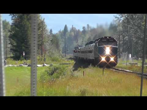 VIA Rail Canada - Chasing Train No2 The Canadian from Kamloops,BC to Jasper,AB