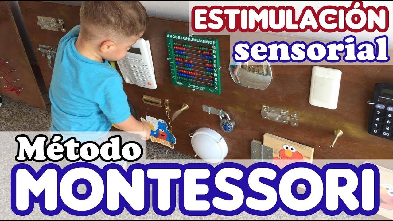 Tablero Sensorial Montessori Para Estimulación Temprana Papá De Twins Youtube