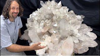 Collecting World Class Quartz Crystals in Arkansas