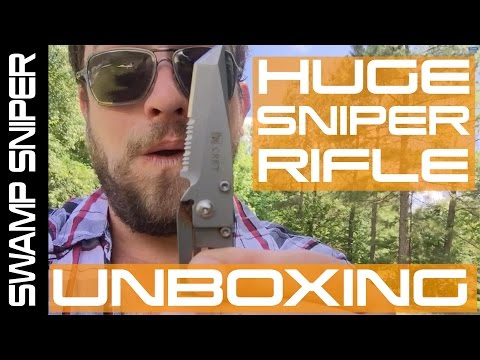 M200 Intervention Cheytac Airsoft Sniper Rifle Unboxing