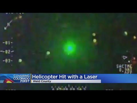 Medical Helicopter Lands After Laser Strike In Weld County