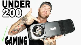 Best Projector Under 200 2018 | Budget Home Theater by Artlii