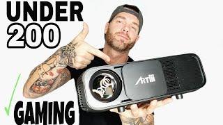Video Best Projector Under 200 2018 | Budget Home Theater by Artlii download MP3, 3GP, MP4, WEBM, AVI, FLV Juli 2018