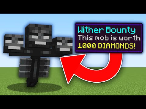 Minecraft, But Mobs Have Bounties