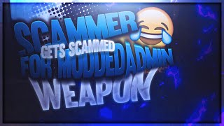 Silly Scammer Gets Scammed With Modded Admin Weapon! (Fortnite Save The World)