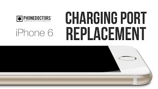 How to: iPhone 6 Charging Port Repair Video