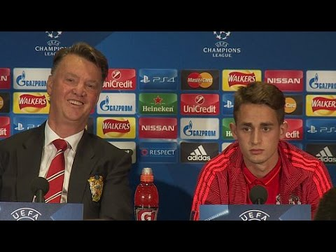 Manchester United - Louis van Gaal Puts Down Adnan Januzaj In Front Of Him?