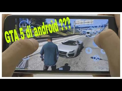 Cara main game GTA 5 di ANDROID IOS - YouTube