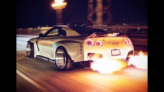 NISSAN GT-R R35 Top Big Turbo Sounds!!!