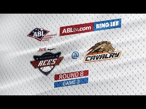 LIVE: Melbourne Aces @ Canberra Cavalry, R8/G3