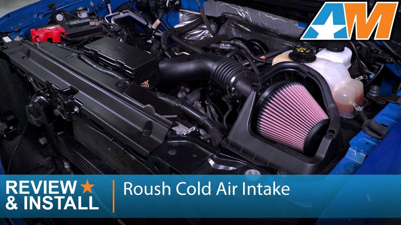 2011-2014 Ford F-150 (5.0L) Roush Cold Air Intake Review ...