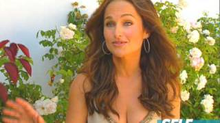 Giada De Laurentiis December cover photo shoot - SELF Magazine
