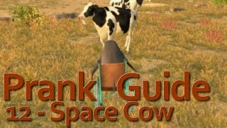 """Goat Simulator"" - PAYDAY DLC - Space Cow (12)"