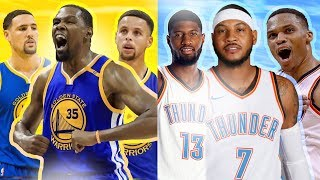 RANKING THE BIG 3 FROM EACH NBA TEAM