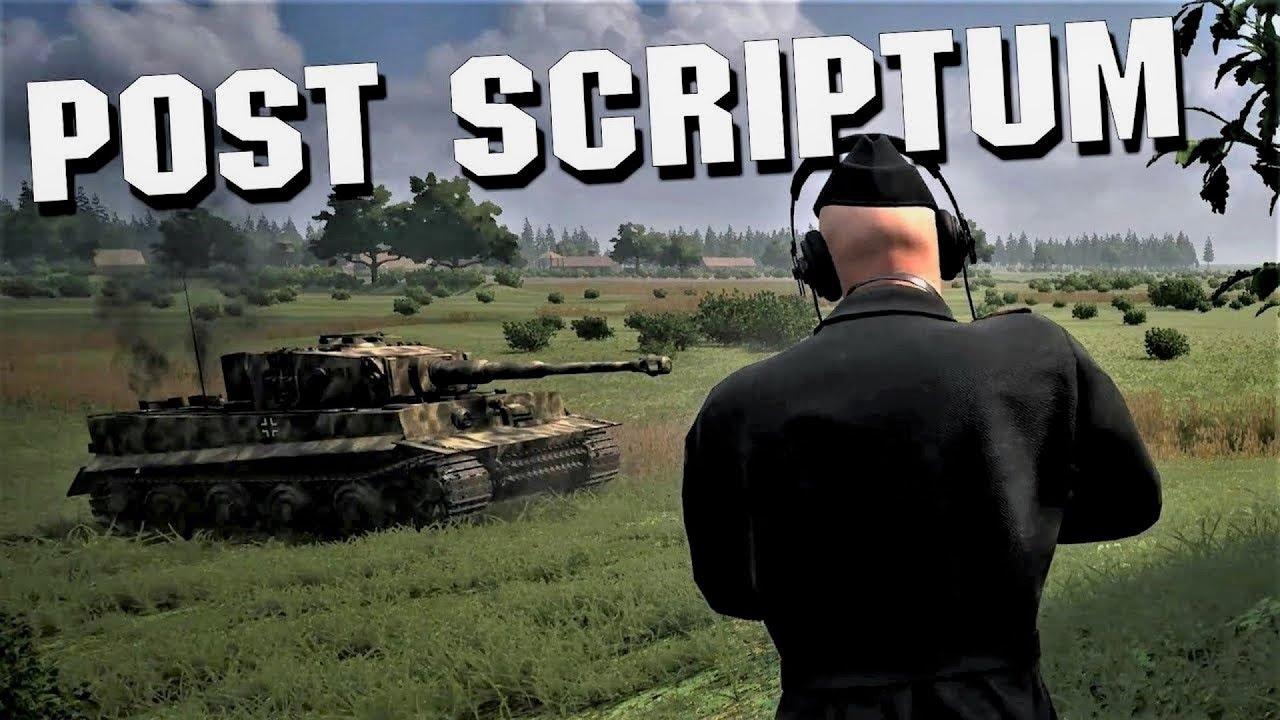 Post Scriptum Tiger Commander on Veghel - 4K