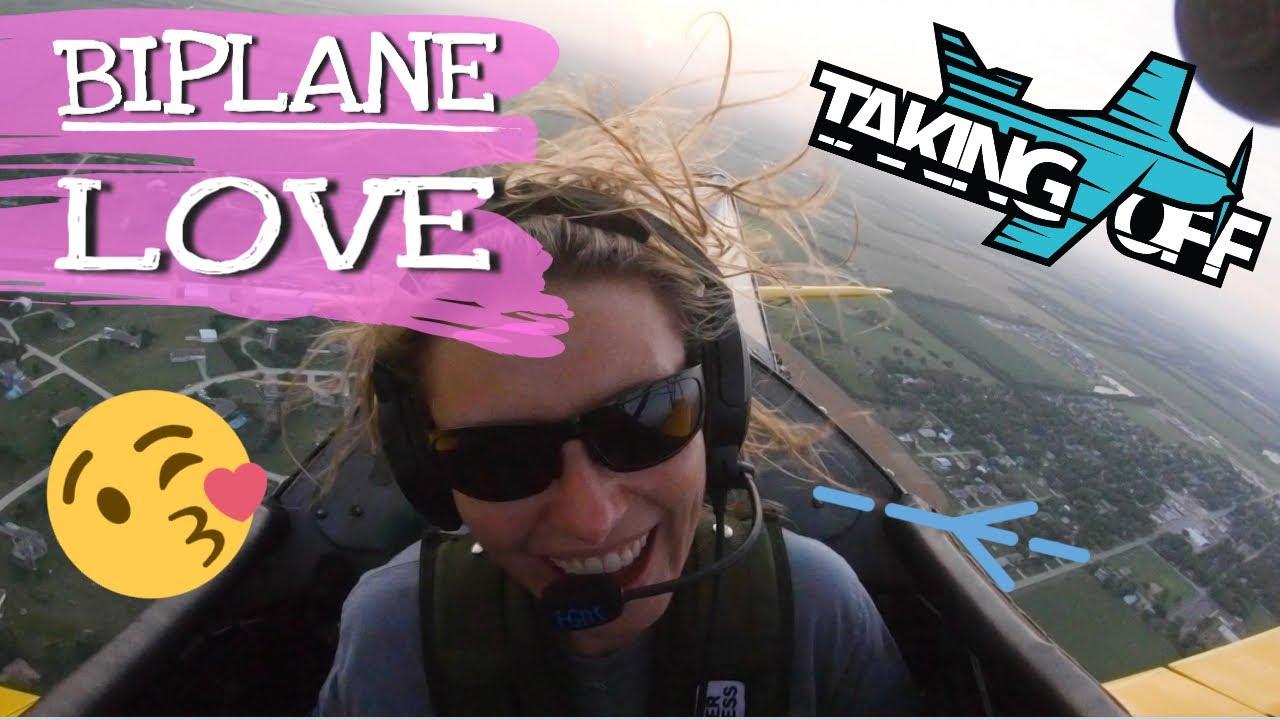 Biplane Love! Christy flies a Stearman - TakingOff Ep 105