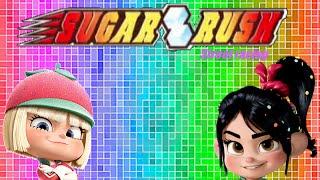 Sugar Rush- street racing- Wreck-It Ralph PC games- gameplay