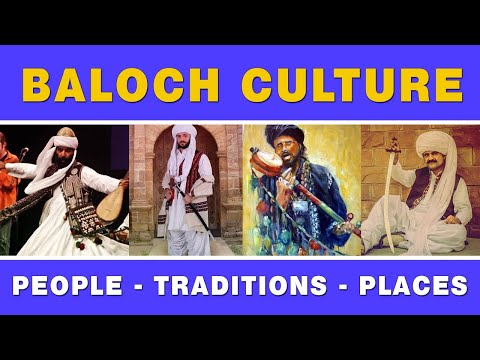 Baloch culture, people, traditions and places (in english)